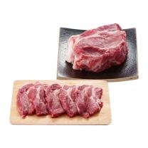 국내산 돼지삼겹살구이용/수육용(냉장)(100G)