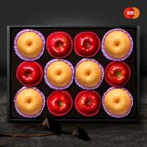 [이룸팜스]다복 명품사과.배 혼합세트2호 5.5kg(사과6입,신고배6입)