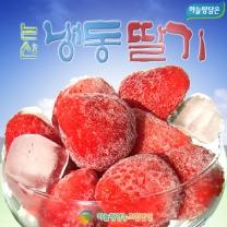 [하늘땅담은]알알이 시원한 논산 냉동딸기 10kg(벌크)