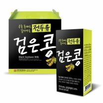 [한미] 콩을 통째로 갈아만든 전두유 검은콩 200ml x 80팩