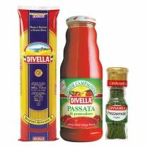 스파게티/소스/향신료세트(스파게티+토마토퓨레+파슬리)