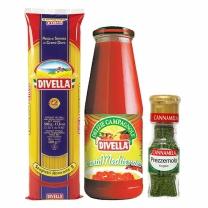 스파게티/소스/향신료세트(스파게티+토마토퓨레지중해+파슬리)