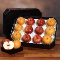 *[아리알찬]팔각명품 사과.배 혼합세트7.0kg이상(사과6입,배6입)