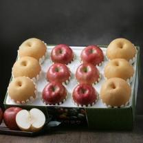 *[아리알찬]명품 사과.배 혼합세트6.5kg이상(사과6입,배6입)