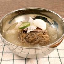 [냉면家]메밀 물냉면 10인분(사리+사골육수*10)