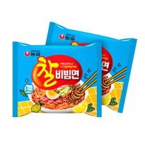 [농심] 찰비빔면 130gx32봉(멀티)