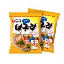 [농심] 너구리40봉 순한맛