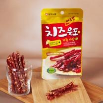 [맛고리]영양간식 매운맛 치즈육포 (27g*10개)