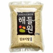 [월드그린]겉보리쌀4kg