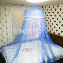 레이스 캐노피 모기장(블루) (하단둘레:1200cm)