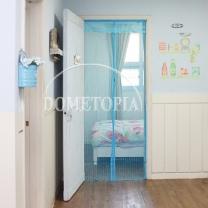 고급 문 모기장(블루) (100cm) GTH3561