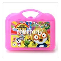 36색 뽀로로 가방 크레파스(분홍) GKS3392