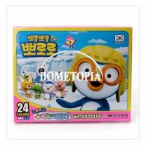 24색 뽀로로 그림물감(6ml)(분홍) GKS3396