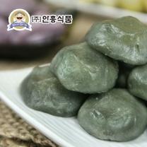 [안흥식품] 금바위 쑥 감자송편 600g x 3팩 / 무료배송