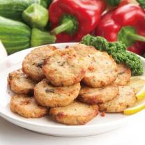 [베지푸드] 채식콩고기 채식동그랑땡 1kg (대용량)