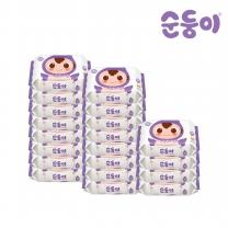 [순둥이]E-com/엠보싱 휴대 리필 20매 20팩