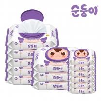 [순둥이]EC-02/엠보싱 70매 캡 8팩 + 엠보싱 휴대 리필 20매 6팩