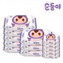 [순둥이]ER-02/엠보싱 70매 리필 8팩 + 엠보싱 휴대 리필 20매 5팩