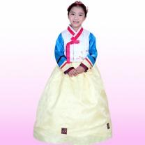 [예화_좋은아이들] 名品 아동한복 여아_ 2052 다올 (당의배자+저고리+치마)