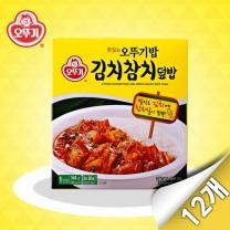 [오뚜기] 맛있는 오뚜기 김치참치덮밥(340g x 12개)
