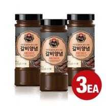[CJ직배송] 백설 갈비구이양념 480g×3개