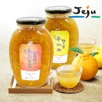 [제주푸드] 제주 한라봉차+유자차 각 2.2kg
