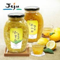 [제주푸드] 제주 레몬차+유자차 각 2.2kg