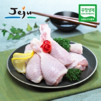 [제주푸드] 제주 무항생제 닭(냉장) 다리+날개 각 500g