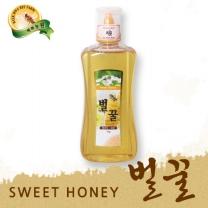 [백화농원] 스위트 허니 국내산 벌꿀 1kg