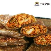 [안흥식품]금바위 메밀  김치전병 1.2kg X 2
