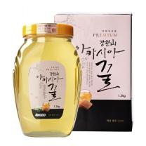 [GMS]강원양봉 강원산 프리미엄 아카시아꿀 1200g