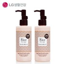 [온더바디] 라이스테라피 쌀눈밝은클렌징오일 200ml x 2개