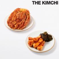 홍진경 더김치 포기김치 3kg + 총각김치 3kg
