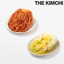 홍진경 더김치 포기김치 3kg + 백김치 3kg