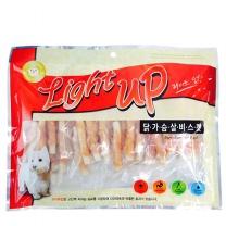 라이트업 닭가슴살비스켓 260g/애견간식/사사미/강아지간식/비스켓/강아지과자