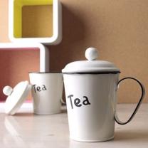 컵 디자인 양철 다용도 수납함 GTL0529