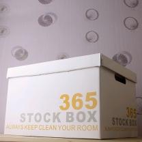 [착불] 인테리어 365 수납상자(흰색)(34L) GTM1601