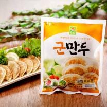 순수향 바삭한 군만두 350gx3봉