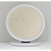 [123710]원형탁상거울(대/화이트/180X170)