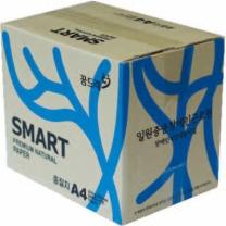 중질지A4(70g/SMARTCOPY/500매X5권/박스)