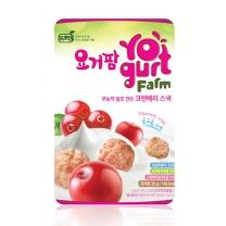 프로엠 요거팜 무농약 쌀로 만든 크랜베리스낵 30g