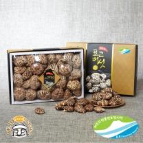 [제주푸드] 제주 생물권보전지역 표고버섯 선물세트 (흑화고 400g)