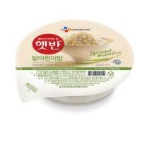 [CJ직배송] 햇반발아현미밥 210g 12개