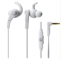오디오테크니카 이어폰(커널형) ATH-CKX7IS/WH 화이트