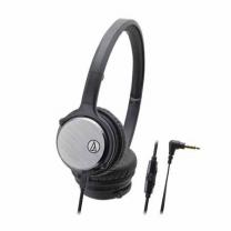 오디오테크니카 헤드폰 ATH-FT50ISBK (블랙)