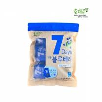 [호재준]세븐데이즈 냉동 블루베리 539g (77g x 7포)