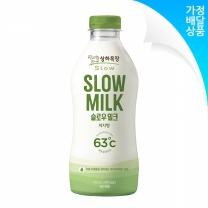 상하목장 슬로우 저지방밀크 750ML(1개월12회) 주3회배달(월/수/금)