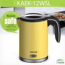 키친아트 스텐레스 무선전기주전자 KAEK-12WSL(레몬)