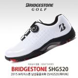 2015 브리지스톤 SHG520 남성용 골프화[화이트]