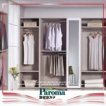 [파로마] 원룸 롤스크린 옷수납 붙박이 드레스룸(탤런트-400옷장)